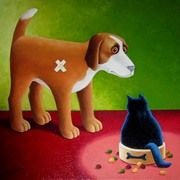 """Dogs Dinner"" by Vicki Mount"