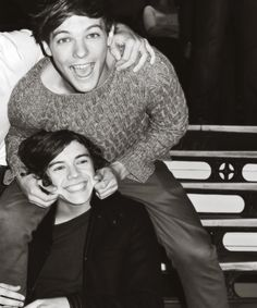 i love you two(: Larry stylinson