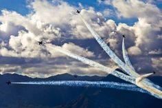 Air Show, Blue Angels, Formación
