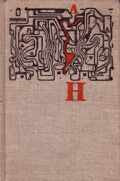 Czechoslovak book cover (1964) Graphic design, cover and binding Jiří Rathouský