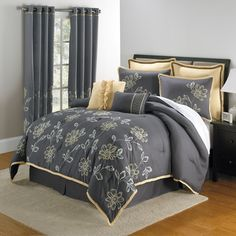 Maxine 8-Pc Comforter Set & More | Prints | Brylanehome