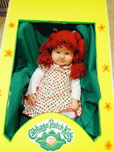 cabbage patch hat by nmjcrochetcreations on etsy 2000 how funny is that package - Cabbage Patch Halloween Costume For Baby