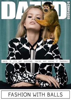 Dazed & Confused March 2012 Cover   Frida Aasen by Sean & Seng