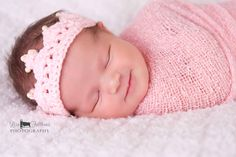 Crochet baby crown Baby girl tiara First birthday by 2kute on Etsy, $12.00