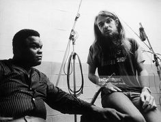 RIP Leon Russell, a beloved pop icon, a great songwriter, pianist, guitarist and singer that always had one foot in the blues! Here he is in the recording studio at a 1970's Freddy King session for his Shelter record label!