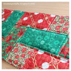 quilted table runner patterns free easy | Table Runner Ideas - The Crafty Mummy