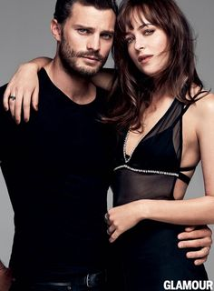 Jamie & Dakota Photoshoot per Glamour | 50 Sfumature Italia