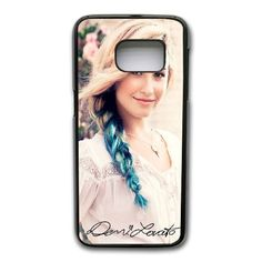 Demi Lovato Phone Cover Case For Samsung Galaxy S7 Edge Cell Phone Black CGD203650 -- Awesome products selected by Anna Churchill