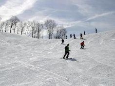 Skiing in West Virginia.  West Virginia is located entirely within the Appalachian Mountains, with four ski resorts situated among peaks where winter comes early and stays long.  Snowshoe Mountain Resort in Pocahontas County, 37 slopes at Canaan Valley Resort, Timberline (both in the Canaan Valley) and, Winterplace, which is two minutes off I-77.