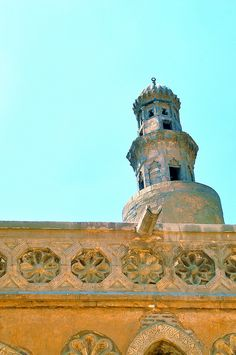 Mosque of Ahmed Ibn-Tulun Egypt