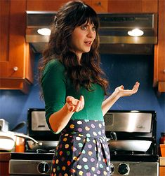 """a how-to on Zooey's hair from the stylist on New Girl - now I need my hair to be 5"""" longer and I'm set!"""