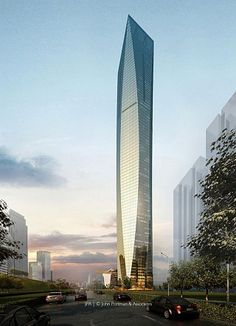Guangxi Financial Investment Center -                  The Skyscraper Center