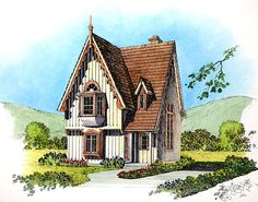"images about Carpenter Gothic Cottages on Pinterest   Gothic    Based on the ongoing ""gothic"" th  it will probably not surprise you that I love gothic architecture  However  although I naturally esteem the great"