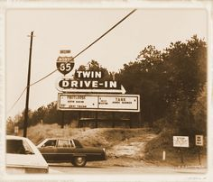 I-85 Drive-In on the access road.  Great movie memories there with my family as a kid.