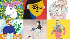 En lo más fffres.co: 10 ilustradores españoles a los que seguir en Instagram: ¿Quién no se puede pasar ratos… #Ilustración #Recopilatorios