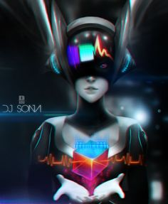 It has been a while since I made anything for DA. So here's DJ Sona for the win! Commission'd for a good friend by being gifted DJ Sona. Black Rock Shooter, League Of Legends Game, Fanart, Disney Fan Art, Fantasy Girl, Bored Panda, Looks Cool, Best Games, Art Music
