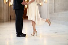Real Wedding: Emi and jay's San Francisco Courthouse Ceremony