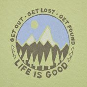 Get out. Get lost. Get found. Profound words of wisdom!  #Lijeisgood #Dowhatyoulike