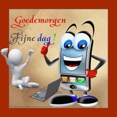 Goedemorgen-Fijne dag | Digitaal te versturen wenskaarten