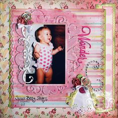 Tutorial using Chipboard and Layers- by Anita Scroggins.   Love the punched edges.