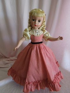 SERENE 1950 Madame Alexander Amy from Little Women with Loop Curls