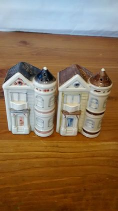 Otagiri OMC Victorian House Salt and Pepper Shakers by LIBBYTREES, $20.00