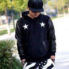 Black skull hip hop hoodies for boys pullover design star sweatshirt Boys Hoodies, Hooded Sweatshirts, Skull Hoodie, Pullover Designs, Black Skulls, Hip Hop Fashion, Sleeve Designs, Rain Jacket, Windbreaker