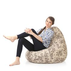 Buy Filled Bean Bags Online India Designer And Comfy With Beans