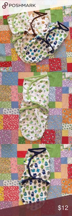 🌟Prebundled swaddles🌟 Prebundle of baby swaddles by Swaddle Me size small. Swaddle Me Accessories