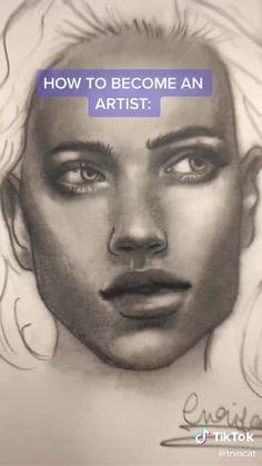 Tiktok art tutorial by Art Drawings Sketches Simple, Pencil Art Drawings, Realistic Drawings, Easy Drawings, Naruto Drawings Easy, Colored Pencil Artwork, Digital Art Tutorial, Drawing Techniques, Art Sketchbook