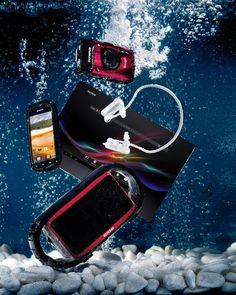 Cool tech stuff - water resistant gadgets