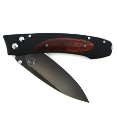 William Henry E Series Curly Koa Knife at Maverick Western Wear