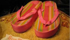 flip flop cakes   Amazing Cakes for Girls