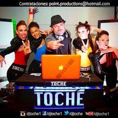 @djtoché1 #teamwork #dancer #dj