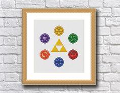 Zelda - Six Medallions - Cross Stitch Pattern | Craftsy