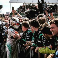 """FORMULA 1® on Instagram: """"Team hug. #BritishGP #LewisHamilton @lewishamilton #Mercedes @mercedesamgf1 #F1 #Formula1"""""""