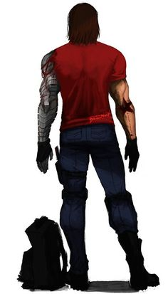 The Winter Soldier: Bucky Marvel Dc, Serie Marvel, Marvel Heroes, Bucky Barnes, Sebastian Stan, Stucky, Steve Rogers, Gi Joe, Marvel Universe