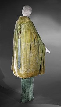 Cape, Gallenga, Made in Venice, Italy, Europe.  1920s