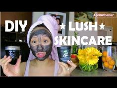 ✿ DIY LUSH DARK ANGELS CHARCOAL FACE MASK ✿ Fade Acne Scars, Oily, Acne Prone Skin