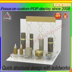 acrylic cosmetic display racks Mainly used for display eye cream cream