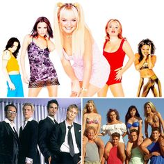 '90s Girls - spice girls, backstreet boys, saved by the bell!