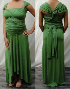 Convertible Maternity Infinity Wrap Dress in by RestorationThreads, $98.00