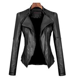 European Style Slim Leather Jacket