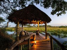 A Botswana Safari Camp Is The New Best Hotel In The World