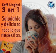 Bienvenido a DXN Nicaragua: Cafe Lingzhi 3 en 1, saludable y delicioso...