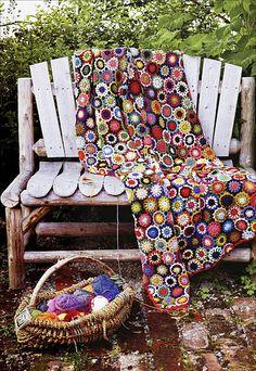 Knit-and-Crochet Garden from KnitPicks.com Knitting by Arne & Carlos