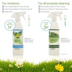 Shaklee Basic H2 is the top cleaning product and you don't need to use much. Get rid of the harmful cleaners and switch to a healthier life with Shaklee.  http://zen.myshaklee.com/us/en/products.php?sku=00015