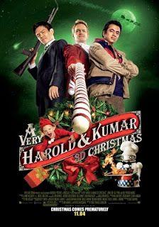 La navidad 3D de Harold y Kumar - online 2011