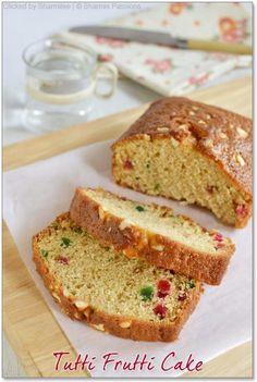 Tutti Frutti Cake | Christmas Recipes | Sharmis Passions