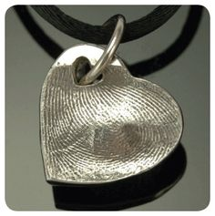 make your own fingerprint jewelry!